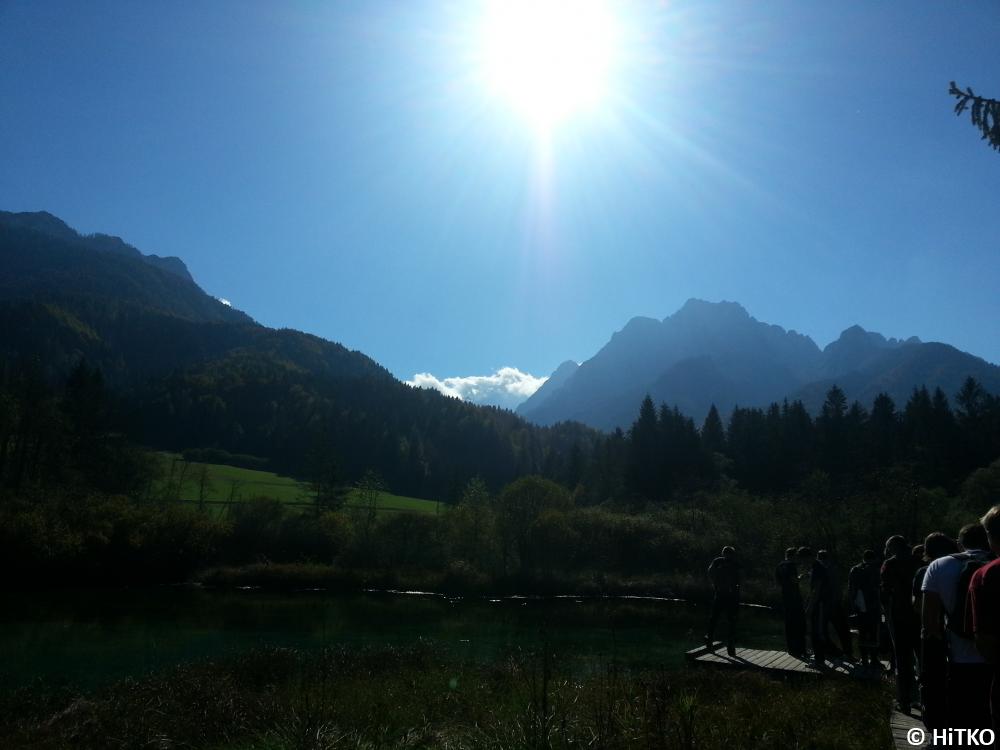 Mountains around Zelenci