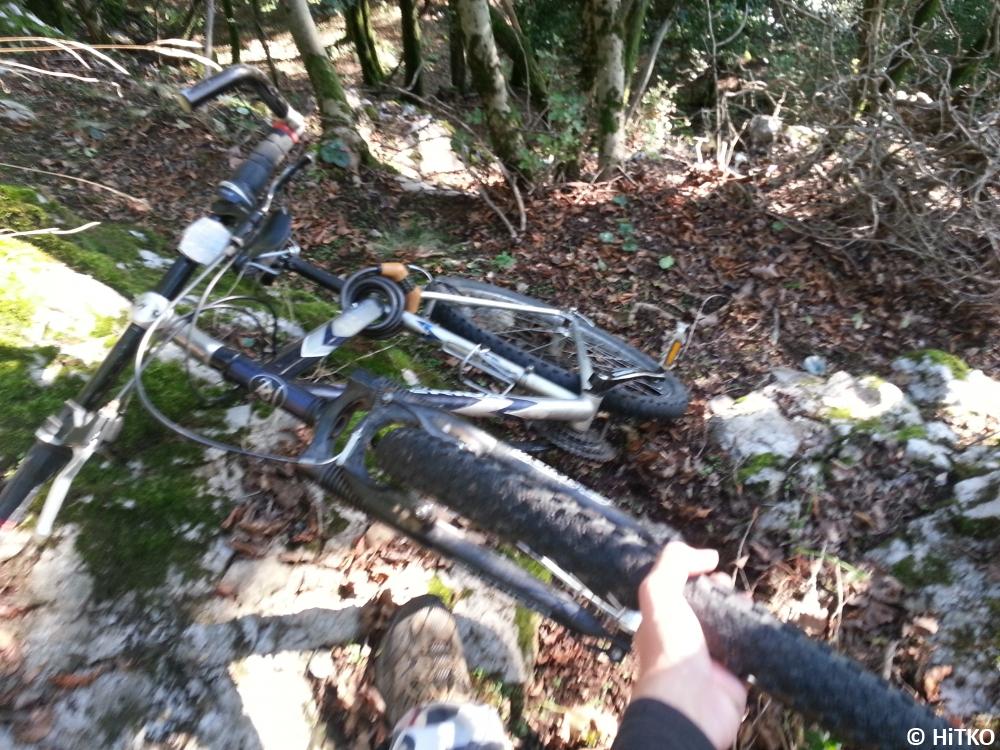 Getting my bike...
