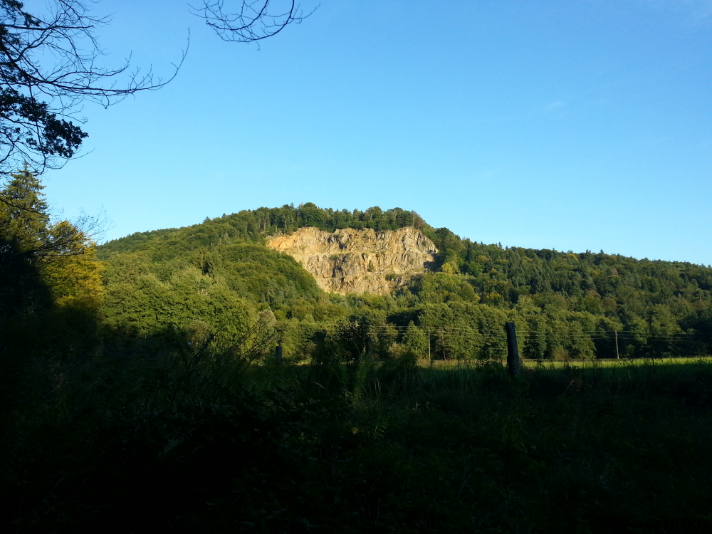 Quarry from the road