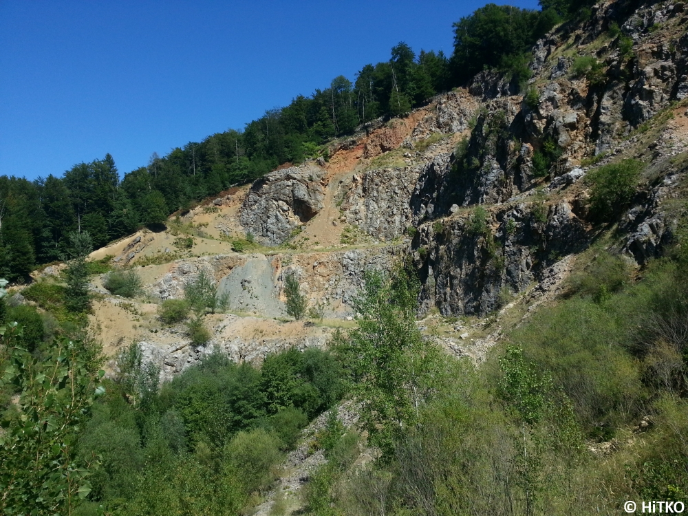 View from the right side of the quarry