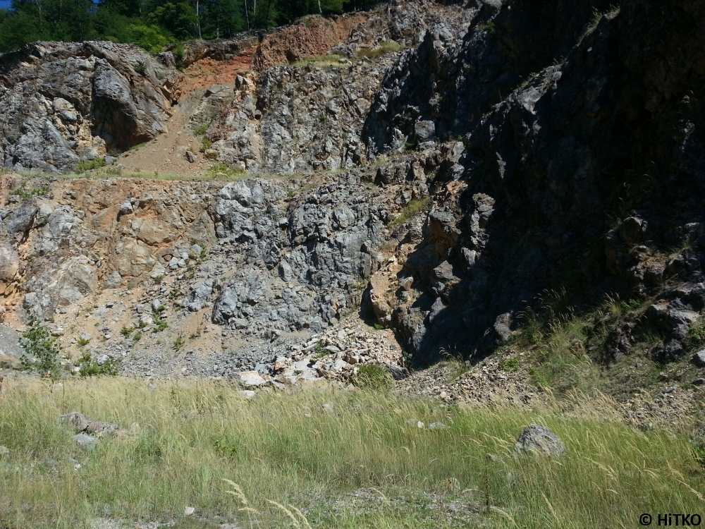 Centre of the quarry