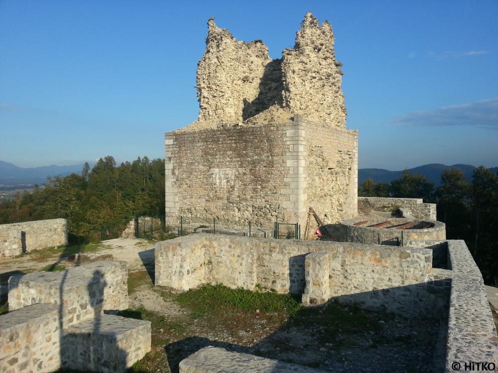 Main part of the castle