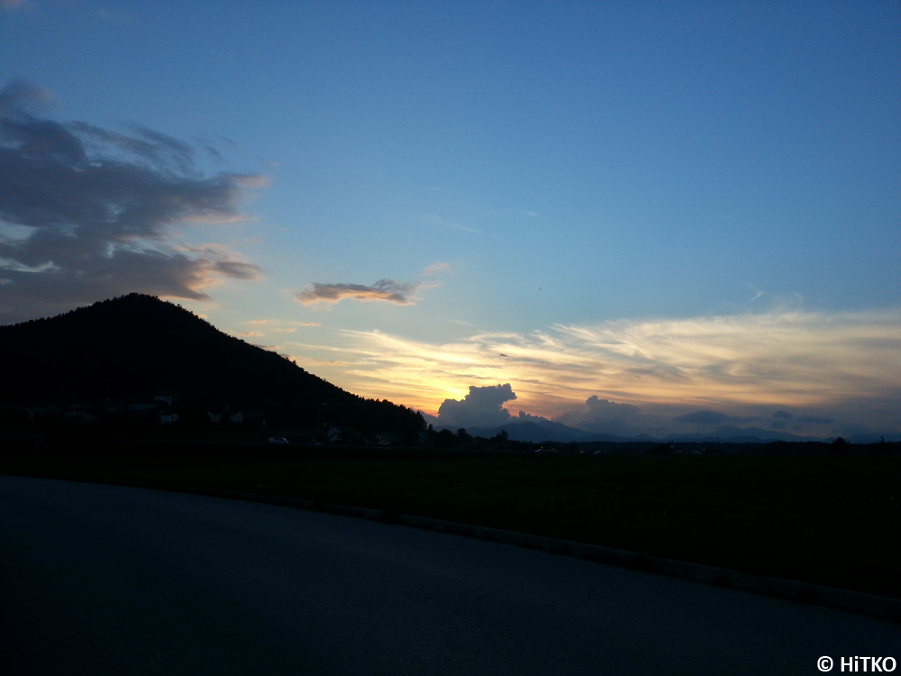 Sunset on my way home (1)